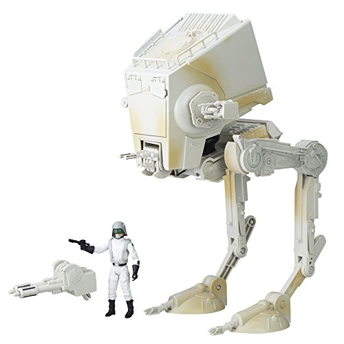 Star Wars Imperial AT-ST Walker and Imperial AT-ST Driver Action Figures The Black Series Exclusive