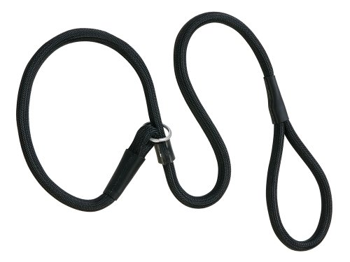 Weaver Leather Rope Slip Lead, 1/2 x 6-Feet, Black