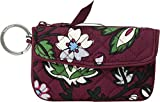 Vera Bradley Iconic Jen Zip ID, Signature Cotton, Bordeaux Blooms