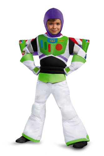 Disguise Disney Pixar Toy Story and Beyond Buzz Lightyear Prestige Boys Costume, Small/4-6 (Disney Buzz Lightyear Costume)