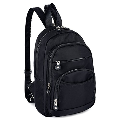 Nylon Backpack Handbag - 7