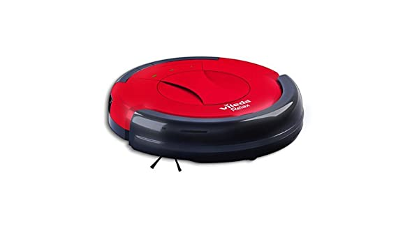 Vileda Relax Cleaning Robot Robotic Vacuum Cleaner (UK Version) - Red by Vileda: Amazon.es: Hogar