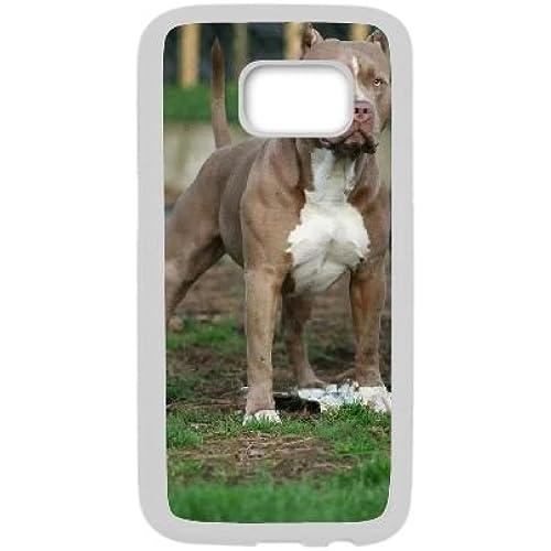 Lenako Samsung Galaxy S7 DIY Case, Cheap Pit Bull Dog Protective Case for Samsung Galaxy S7 Sales