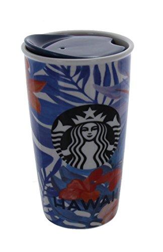 Starbucks 2015 Dot Collection Hawaii Limited Ceramic Travel Tumbler / Mug by Starbucks