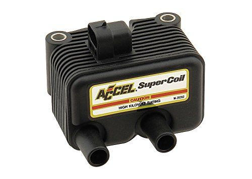 (ACCEL 140409 Black Twin Cam Super Coil)