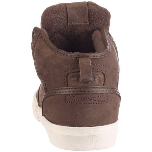 Globe Motley Mid, Chaussures de skateboard homme Marron (Lisse)