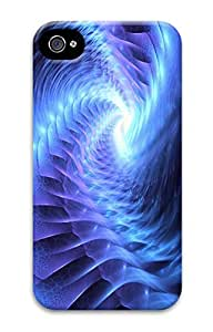 Digital Image Printed On the Single Back Cellphone Case Cover For iPhone 4 3D Hard Plastic Shell Skin For iPhone 4-Flower 15