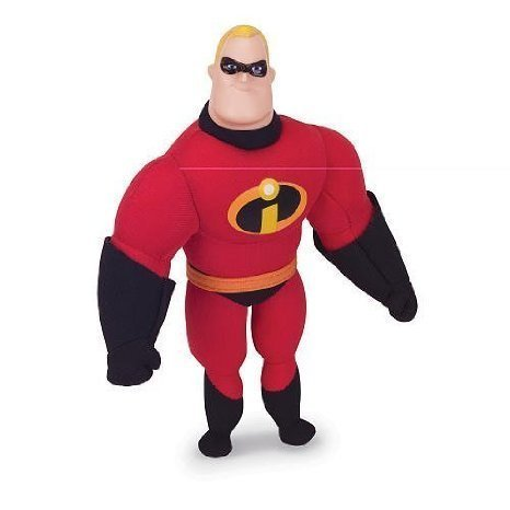 Disney Incredibles Toys (Pixar Collection Disney Buddies Mr. Incredible Plush)