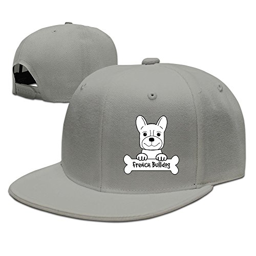 Texhood Vintage French Bulldog Dance Cap Ash (Spiele Halloween Party)