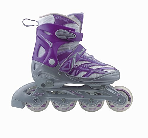 Chicago Blazer Junior Girls Adjustable Inline Roller Skate (Size 5-8) (Blazer Rebound)
