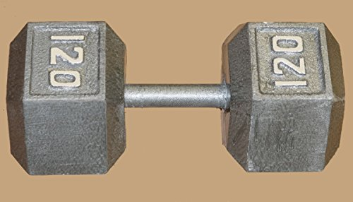 Hex Dumbell - 120lb by TDS
