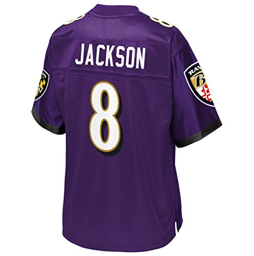 (Ouyehcs Lamar_Jackson_Purple #8 Fans Jersey Sportswears Football Game Jerseys)