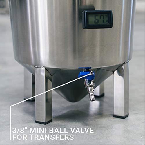 Ss Brewtech Home Brewing BrewMaster Brew Bucket Fermenter; Stainless Steel (7 Gallon)