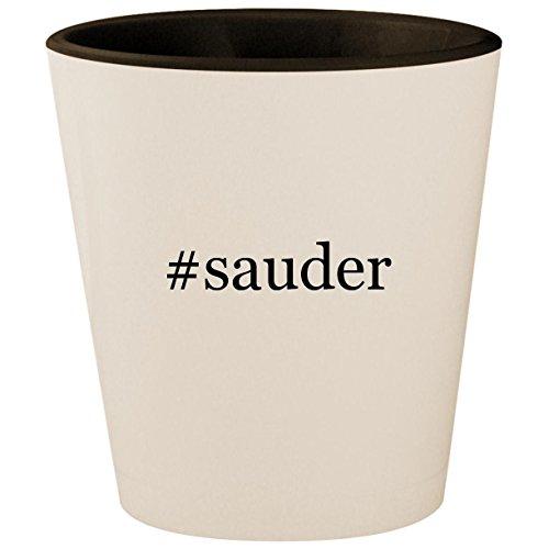 Bar Cherry Wine Hill (#sauder - Hashtag White Outer & Black Inner Ceramic 1.5oz Shot Glass)