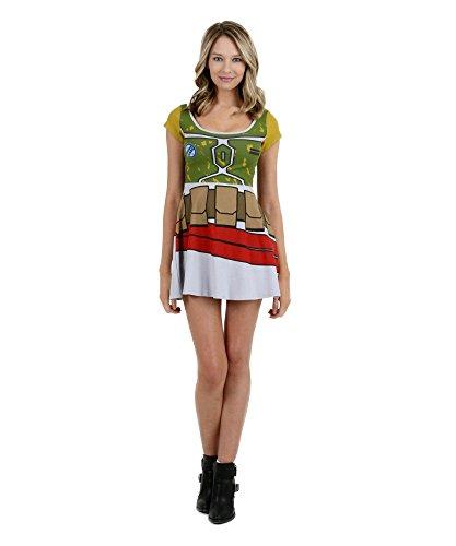 Star Wars Boba Fett Skater Dress