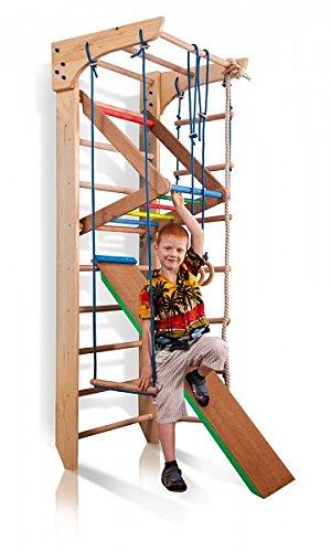 Sprossenwand Holz - Klettergerüst Indoor Holz