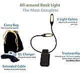 The Lamborghini of Book Lights - Warm, Cool n