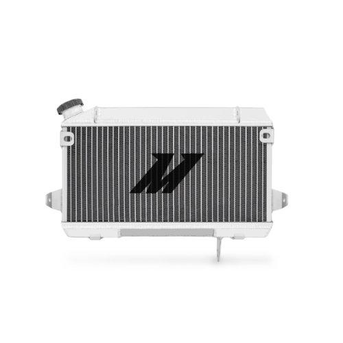 Mishimoto MMPS-LTR450-06 Suzuki LTR450 Aluminum Radiator, 2006-2009, Silver