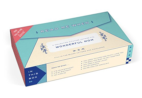 Price comparison product image Knock Knock Letters to My Wonderful Mom Read Me When Box (50171)