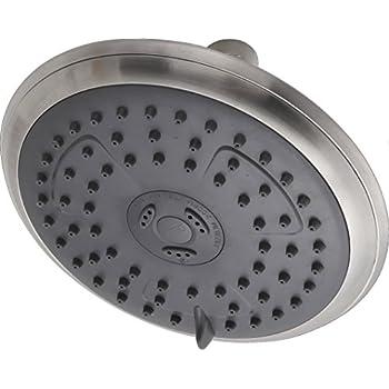 Amazon.com: Delta RP62171BN Porter Showerhead, Brushed