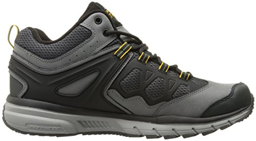 Skechers Sport Uomo Geo Trek Mid Oxford, Carbone / Nero