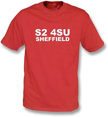 Sheffield is Red /& White t-shirt Blades Fan T-Shirt Sheffield United