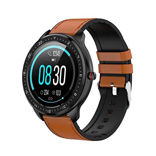 Smartwatch, Full-Screen Touch Health Armband Met Meerdere Sportmodi, Stappenteller, Hartslag En Bloeddruk Stijlvolle…