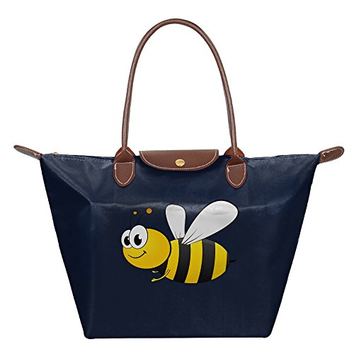 OUDE Cartoon Cute Bee Fashion Ladies Folding Dumpling Bags