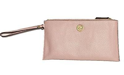 Michael Kors Fulton Leather Clutch Wristlet Wallet