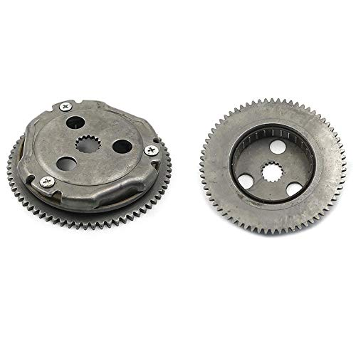 Star-Trade-Inc - 2009-2012 For YAMAHA RAPTOR 90 YFM 90 YFM90 ATV ONE WAY STARTER CLUTCH GEAR ASSEMBLY