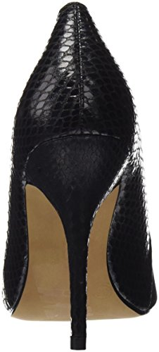 Maria Mare Damen 2016 I Basic Calzado Señora Geschlossene Schuhe mit Absatz Schwarz (Peach Negro / Serpiente Negro)