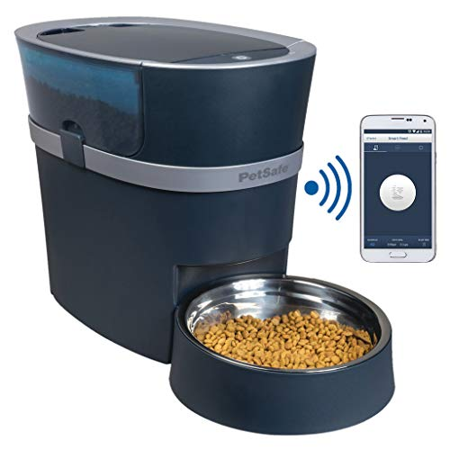 PetSafe Smart Feed Automatic Dog and Cat Feeder, Wi-Fi Enabled Pet Feeder, Smartphone App for iPhone and Android