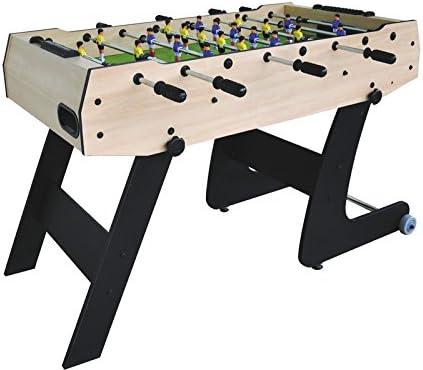 XTURNOS Futbolín Plegable de 121X61X80 cm.: Amazon.es: Juguetes y juegos