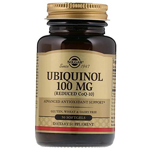 Solgar – Ubiquinol with Reduced CoQ-10 100 mg, 50 Softgels - 2 Pack ()