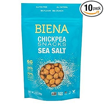 CHICKPEA, SEA SALT , Pack of 10