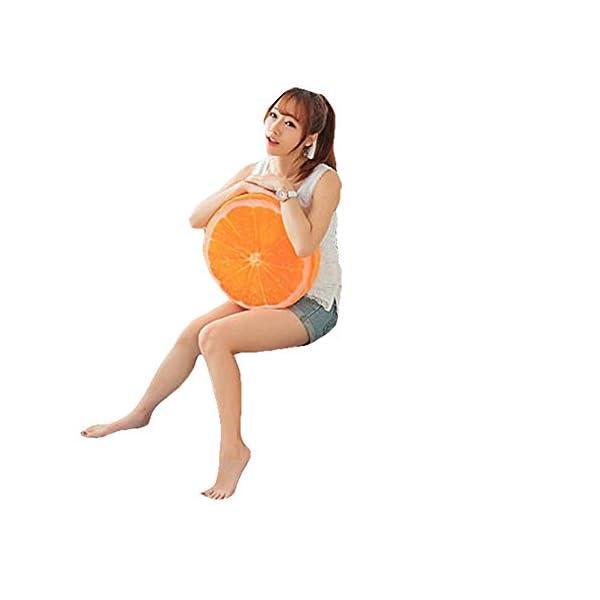 Dosige 3D Cartoon frutta cuscino per sedia sedile posteriore divano, cuscino Home Office auto peluche gioca casa… 1 spesavip