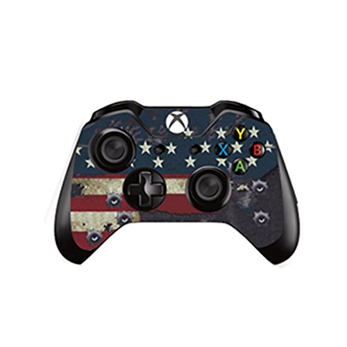 Video Games & Consoles Logical Punisher Xbox One S 1 Sticker Console Decal Xbox One Controller Vinyl Skin Faceplates, Decals & Stickers