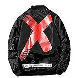 Henreiba Spring Jacket Ma1 Bomber Hip Hop Coat Men Waterproof Flight Coat US Size