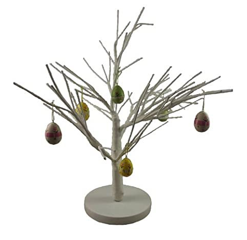 White Easter Twig Tree - Beautiful Table Decoration