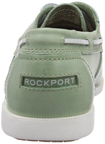 Rockport 2-EYE - Náuticos de cuero hombre verde - Grün (LT GREEN)