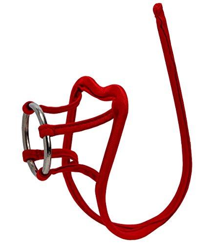 - SYAYA Men's Sexy C-String Lingerie Underwear NNK01 (deep red 01)