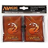 Ultra Pro The Magic the Gathering (MTG) Mana Deck Protectors - RED (80 Sleeves) 82453-1 OOP