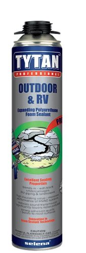 12 Cans Tytan Expanding Foam Sealant Outdoor R V Insulate 24oz Import It All