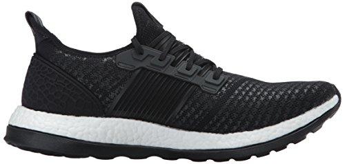 Scarpa Da Running Adidas Performance Mens Pureboost Zg Nero / Nero / Tessuto Nero