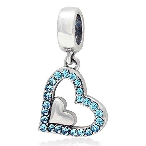 Crystal Sterling Silver Pandora Bracelet product image