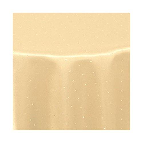 Damast Tischdecke Rund Maßanfertigung Maßanfertigung Maßanfertigung im Punktedesign 140cm Rund in Terrakotta B01M62DTD0 Tischdecken b127f8