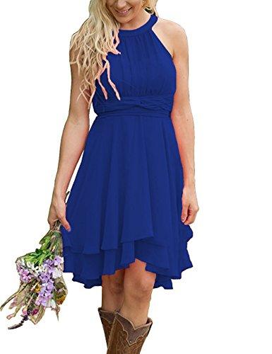 high low bridesmaid dresses canada - 1