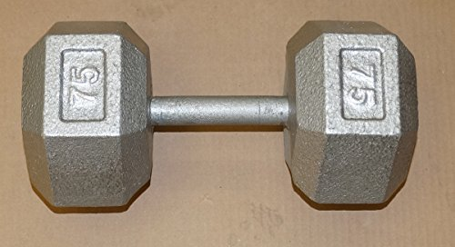 Hex Dumbell - 75lb