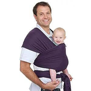 Fulares Portabebés- Violeta -Portador de Bebe-Envio Gratuito-Fulares por Hombre y Mujer-Talla Única-Baby Carrier-fulares portabebés elásticos