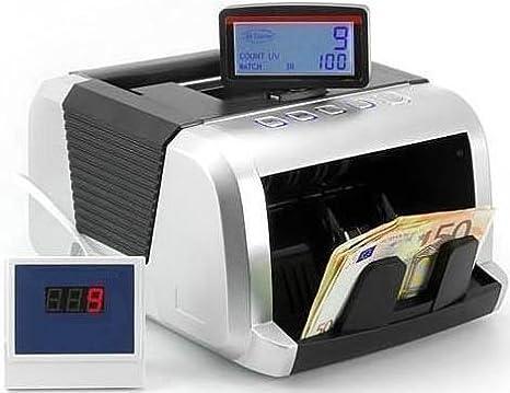 EUROLINE - Contabanconote con 4 sistemi di rilevamento delle banconote false UV, MG, MT, IR e tecnologia 2D EUROLINE - UV/MG/MT/IR LCD